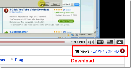 Download videos from YouTube using Firefox add-on – Binbert