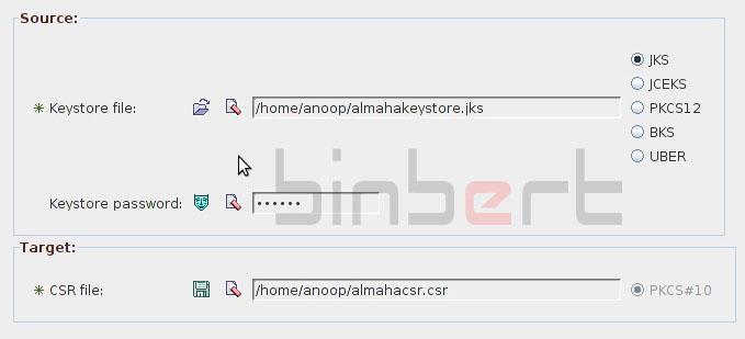 keytool IUI to manage SSL Certificate in Glassfish Web Server – Binbert