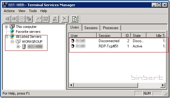 Two ways to resolve Terminal server limitation error – Binbert