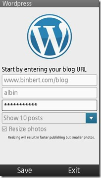 wordpress nokia blog