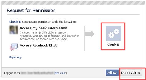 facebook virus deny