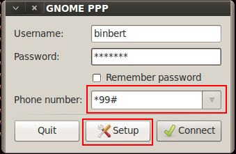 Wvdial gnome-ppp